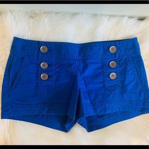 Express Blue Sailor Shorts! ☀️